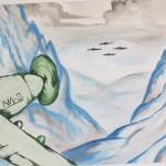 Талғат Бигельдиновтың төрт истребительге қарсы шабуылы. Такенов Ерзат, 9 «А» сынып