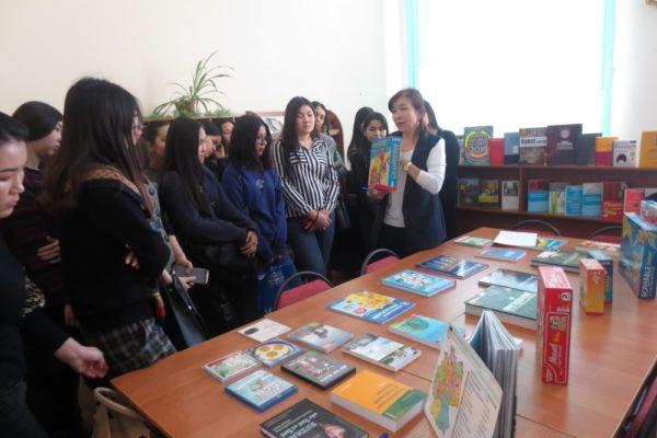 Книги на немецком языке из  Гёте-Института Казахстан: презентация